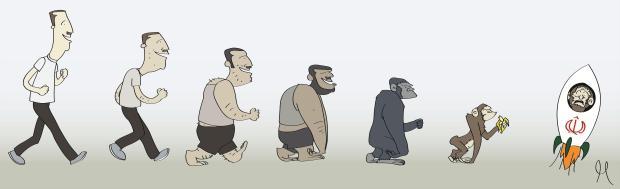بشار يؤكد نظرية داروين