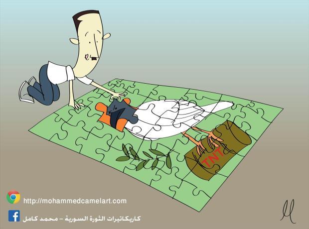 دي ميستورا: الرئيس الاسد هو جزء من الحل